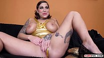 Amazing Heidi van Horny has the whole package. And now she has to prove it to 2 guys DP Style thumbnail