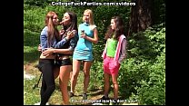 student party in the woods Preview