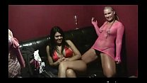sara jay flower tucci and luscious lopez backstage Preview