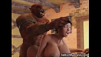 3D Busty Girls Destroyed by Giant Monsters porn thumbnail