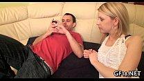 His girlfriend getting drilled hard thumbnail