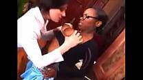 aggresive white girl on black boobs - download porn videos