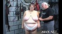 Taut pussy bizarre bondage in home xxx video's Thumb