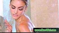 Sexy busty lesbos try nuru massage - Abigail Mac & Ryan Ryans