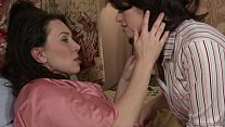 Mommy and Daughter Fingerfuck - Ashlyn Rae, RayVeness preview image