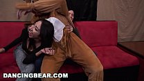 13504 DANCING BEAR - Sean Lawless Slings Dick At Wild CFNM Party With Zoey Parker, Daisy Stone, Lexi Brooke, and More! preview