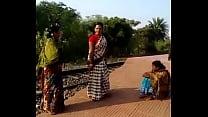 Village Girls  Fuck in Field Image