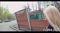 Hardcore fuck on a hidden camera