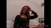 Roleplay With A Superhot Redhead - GermanPornCasting.com Preview