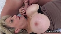 Unfaithful british mature lady sonia exposes he...