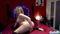 CamSoda - Alexis Texas Big Ass Masturbation in Bedroom thumbnail