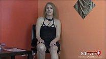 Porno Casting Interview mit blonder MILF Stella - SPM Stella38IV01 Vorschaubild