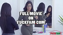 Familystrokes - Hot Latin Twin Sisters Compete For Cock