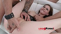 Tina Kay 4on1 mini gangbang & DP for Legal Porn SZ873