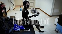 Vacuum Bag Bondage Breath Paly rubberdoll