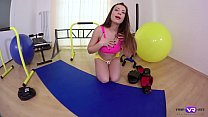 TmwVRnet.com -Teressa Bizarre- Sexy Fitness Enthusiast Shows More of a Slim Body