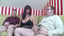 German Step-Mom Teach two Young Boys How to Fuck Right Vorschaubild