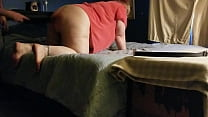 Curvy Girl Gets A Spanking From Daddy
