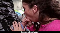 ExxxtraSmall -Tiny Step Sister Gets Fucked by Older Brother! thumbnail