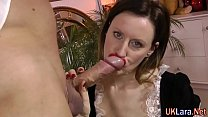 Stockings maid creampie preview image