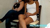 Proton Videos comendo bem gostoso sem camisinha a esposa Gordelicia Sofia e a sobrinha dela