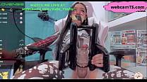 Sado Mazo Transsexual Play At WebcamTS Com