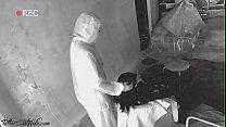 Brunette make Blowjob so as not to Quarantine - Coronavirus
