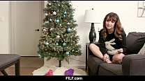 FILF - StepMom Anissa Kate Chritsmas Fuck With StepSon thumbnail