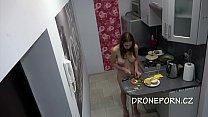 Nudist in the Kitchen