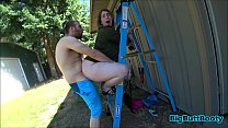 Slutty Wife Fucks The Landscaper Thumbnail