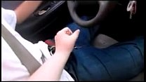 5913 Wife Teaches Teen To Drive While Playing with his Dick & Make Him Cum Huge preview