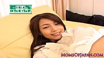 Free download video bokep Mature japanese milf squirting before facial