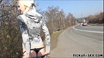 Skating girl Lenny Elleny anal fucked and facia...