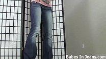 I put on those jean shorts you love JOI