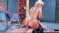 Deep Anal Hard Bang With Big Oiled Butt Horny S...