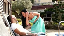 Passion-HD - Brunette with great ass Anna Rose gets mor Thumbnail