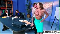 (Juelz Ventura) Big Round Boobs Girl In Hard Sex In Office clip-15