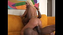 Thick black dick for white chick Thumbnail