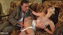 6684 College girl loves how old man fingering her pussy and fucks her hardcore preview
