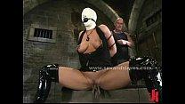 Leather tied sex slave extreme sadomaso