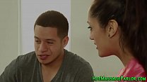 Hot latina masseuse blows's Thumb