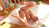 Easter with Katerina Hartlova join me my toys and my huge orgasm