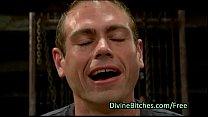 Guy Gets Prostate Milking In Femdom