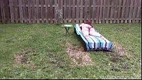 19720 Redhead MILF Marcy Diamond Gets Sprayed in Backyard by BBC preview