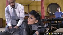 Romi derails into double penetration video