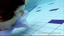 Aneta shows her gorgeous body underwater Image