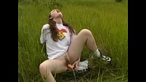Femke teen Masturbates Outdoors pornhub video