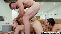Sloan Harper and Natalie Porkman threesome
