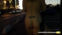 Image: Back to the car naked in cap d'Agde