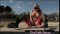 Elisa Public Slut Flashing and sex in public | ElisaPublicSlut.com
